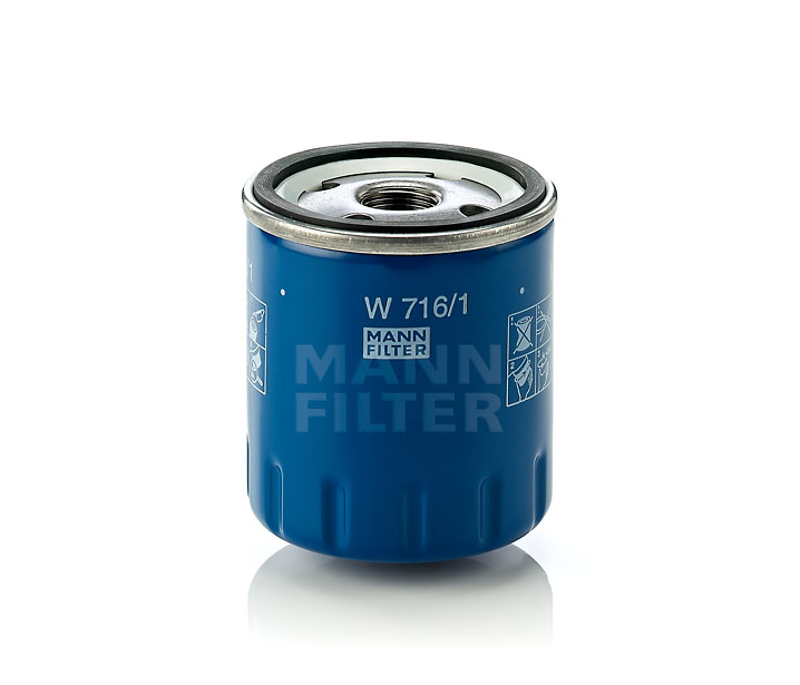 MANN FILTER FILTRO OLIO HYUNDAI w6107 MANN-FILTER W 610//7